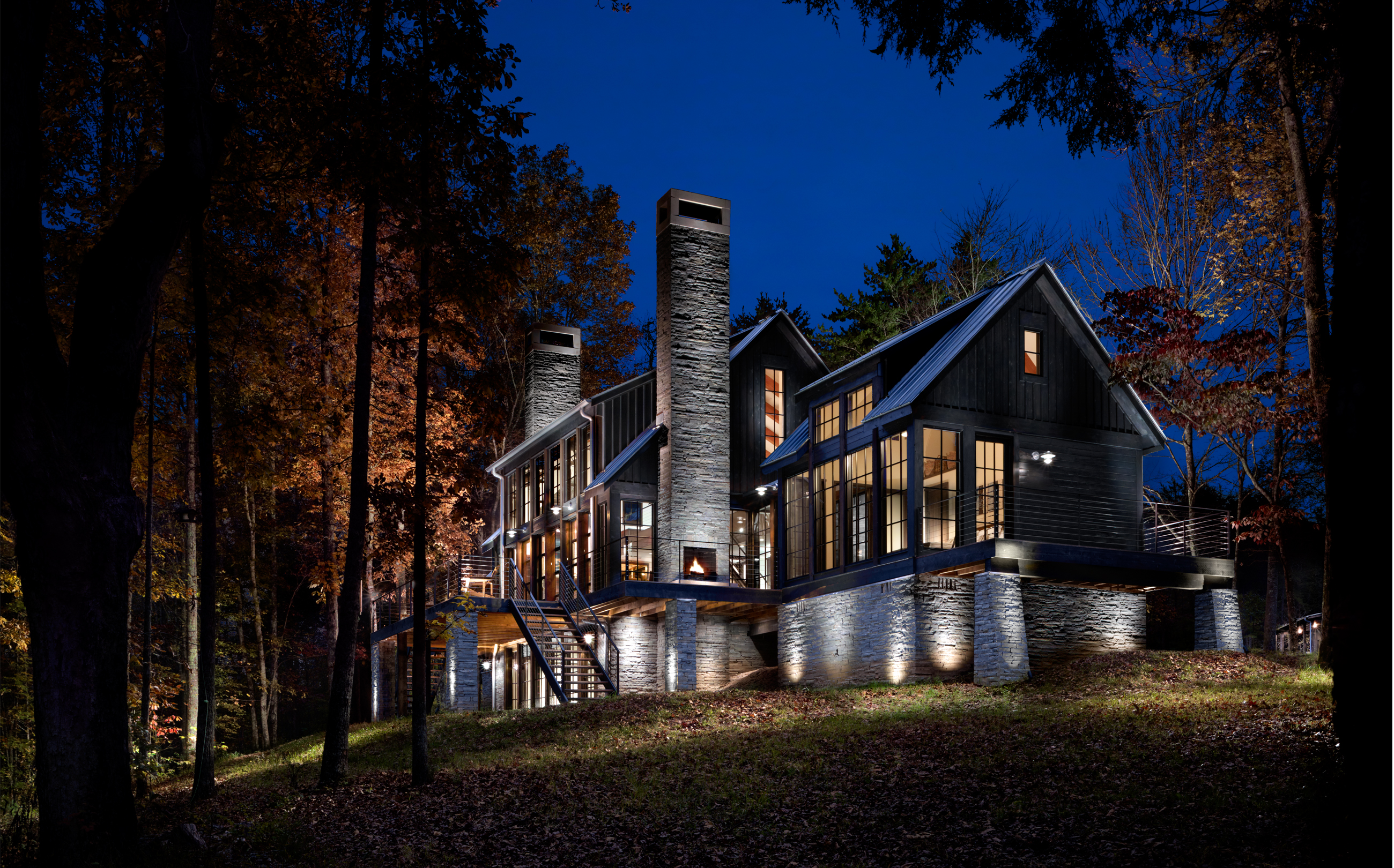 Creekview Residence, Nunnelly, Tennessee, architecture, design, house, residence, new construction, exterior, interior, photos