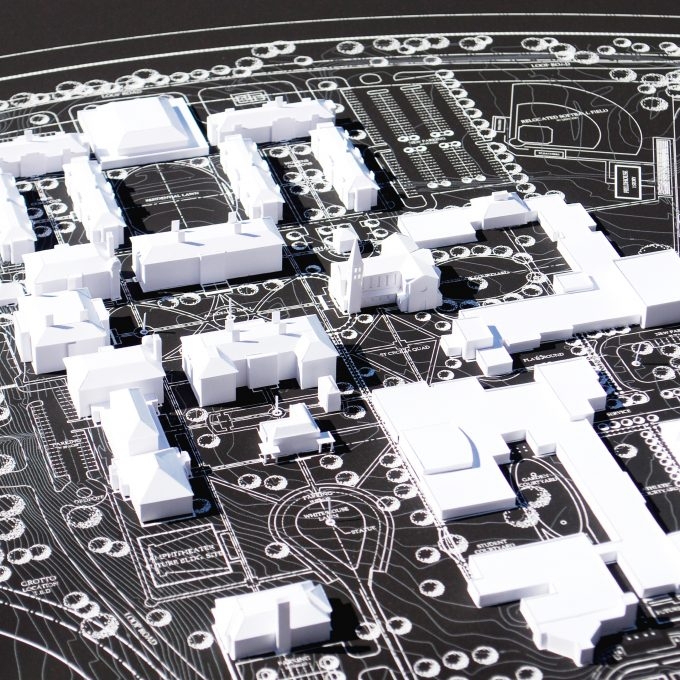 Master Plan, Dominican Campus, Nashville, Tennessee, Architecture, Design, Model