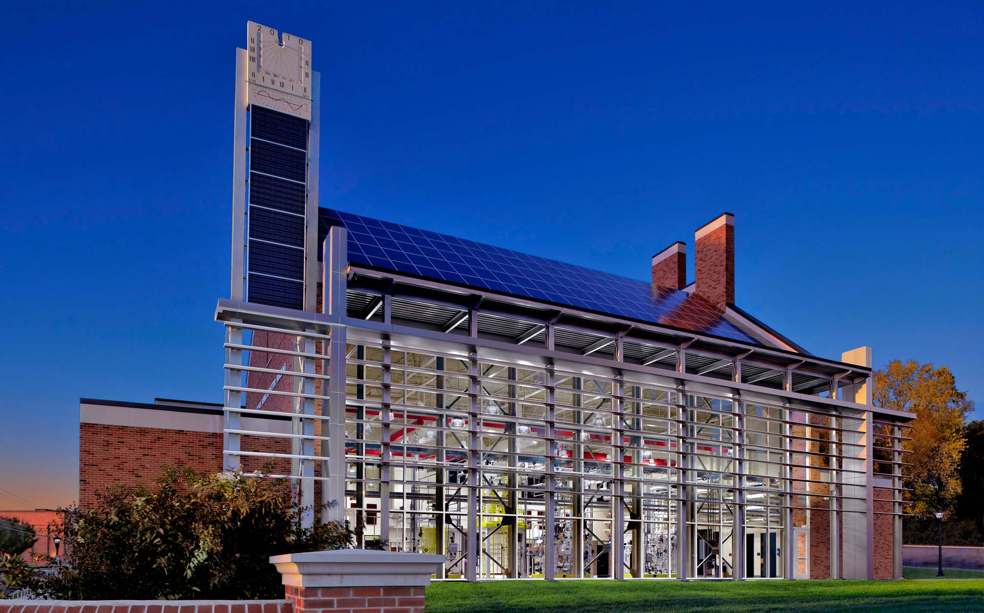 Chemical Engineering Technical Building, CET Building, APSU, Austin Peay State University, Clarksville, Tennessee, new construction, exterior,
