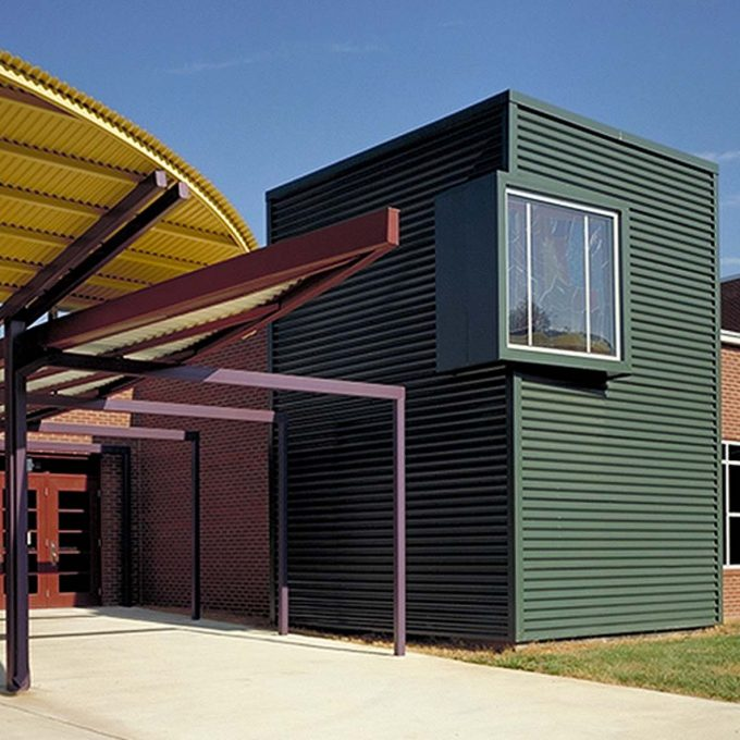 Inglewood Elementary School, Nashville, TN, Tennessee, architecture, design, education, school, new construction, exterior photos