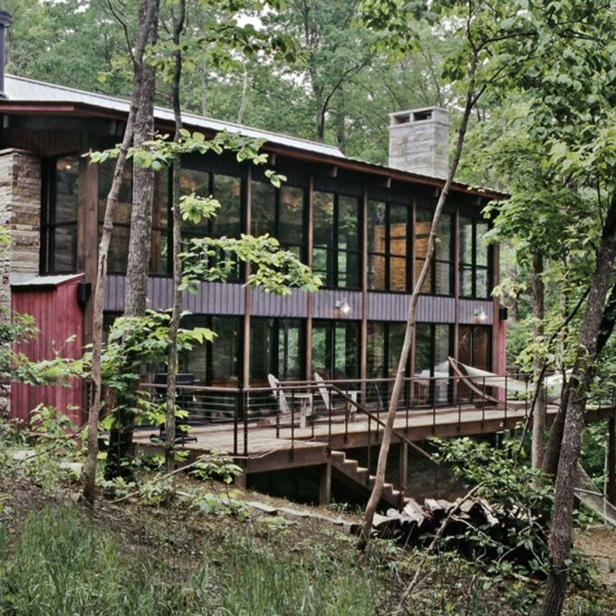 Mountain Cabin, Mulloy, architecture, design, residence, house, new construction, exterior, interior, photos, pictures