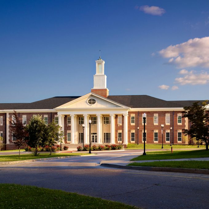 Bell School of Nursing, TTU, Tennessee Technological University, Cookeville, Tennessee, architecture, design, education, college, university, new construction, exterior, interior, photos