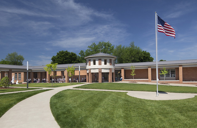 Overbrook School Great Lawn and Lobbies, Overbrook, Nashville, TN, Tennessee, architecture, design, Education, New Construction, Outdoor, Exterior, Photos, Interior,