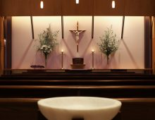 Catherine McAuley Chapel<br />at Saint Bernard Academy