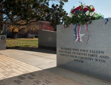 Veteran's Memorial<br />at Middle Tennessee State University